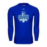 Under Armour Royal Long Sleeve Tech Tee-Track and Field