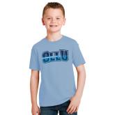 Youth Light Blue T Shirt-OLLU