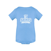 Light Blue Infant Onesie-Our Lady of the Lake University Athletics - Offical Logo