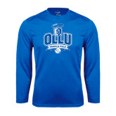Performance Royal Longsleeve Shirt-Track and Field