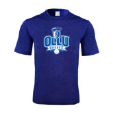 Performance Royal Heather Contender Tee-Baseball