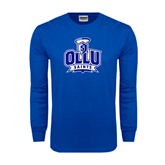 Royal Long Sleeve T Shirt-OLLU Saints