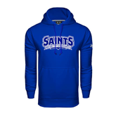 Under Armour Royal Performance Sweats Team Hoodie-Saints - Our lady of the Lake University