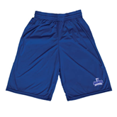 Russell Performance Royal 10 Inch Short w/Pockets-Our Lady of the Lake University Athletics - Offical Logo