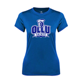 Ladies Syntrel Performance Royal Tee-OLLU Saints