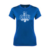 Ladies Syntrel Performance Royal Tee-Track and Field