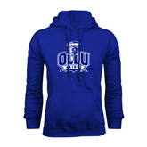 Royal Fleece Hoodie-OLLU Saints