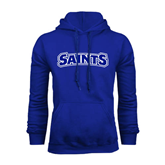 Royal Fleece Hoodie-Saints