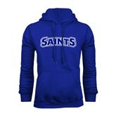Royal Fleece Hoodie-Saints