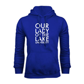 Royal Fleece Hoodie-Our Lady of the Lake Stacked