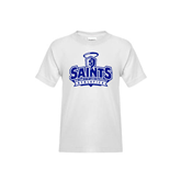 Youth White T Shirt-Our Lady of the Lake University Athletics - Offical Logo