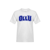 Youth White T Shirt-OLLU