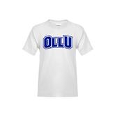 Youth White T Shirt-OLLU