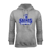 Grey Fleece Hoodie-Our Lady of the Lake University Athletics - Offical Logo