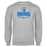 Grey Fleece Crew-Our Lady of the Lake University Athletics - Offical Logo