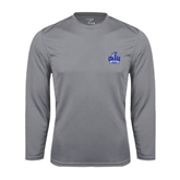 Performance Steel Longsleeve Shirt-OLLU Saints