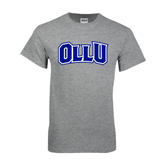 Grey T Shirt-OLLU