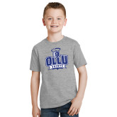 Youth Grey T-Shirt-OLLU Saints