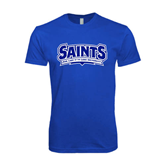 Next Level SoftStyle Royal T Shirt-Saints - Our lady of the Lake University
