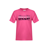 Youth Cyber Pink T Shirt-OLLU