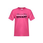 Youth Fuchsia T Shirt-OLLU