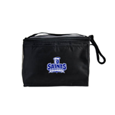 Six Pack Black Cooler-Our Lady of the Lake University Athletics - Offical Logo