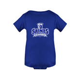 Royal Infant Onesie-Our Lady of the Lake University Athletics - Offical Logo