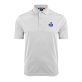 White Dry Mesh Polo-OLLU Saints