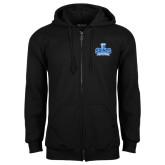 Black Fleece Full Zip Hoodie-Our Lady of the Lake University Athletics - Offical Logo