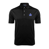 Black Dry Mesh Polo-OLLU Saints