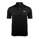 Black Dry Mesh Polo-OLLU