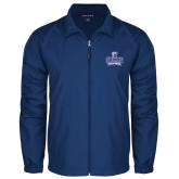 Full Zip Royal Wind Jacket-Our Lady of the Lake University Athletics - Offical Logo