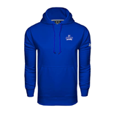 Under Armour Royal Performance Sweats Team Hoodie-Our Lady of the Lake University Athletics - Offical Logo