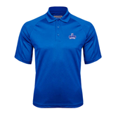 Royal Textured Saddle Shoulder Polo-Our Lady of the Lake University Athletics - Offical Logo