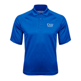 Royal Textured Saddle Shoulder Polo-The Woodlands