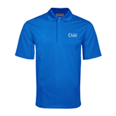 Royal Mini Stripe Polo-OLLU Our Lady of the Lake University Stacked