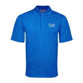Royal Mini Stripe Polo-The Woodlands