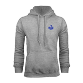 Grey Fleece Hoodie-OLLU Saints