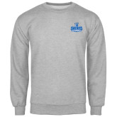 Grey Fleece Crew-Our Lady of the Lake University Athletics - Offical Logo