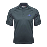 Charcoal Dri Mesh Pro Polo-Our Lady of the Lake University Athletics - Offical Logo