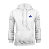 White Fleece Hoodie-Our Lady of the Lake University Athletics - Offical Logo