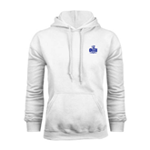 White Fleece Hoodie-OLLU Saints