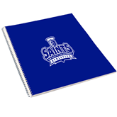 College Spiral Notebook w/Clear Coil-Our Lady of the Lake University Athletics - Offical Logo