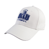White Heavyweight Twill Pro Style Hat-OLLU Saints