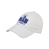 White Twill Unstructured Low Profile Hat-OLLU Saints