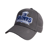 Charcoal Heavyweight Twill Pro Style Hat-Our Lady of the Lake University Athletics - Offical Logo
