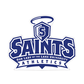 Small Magnet-Our Lady of the Lake University Athletics - Offical Logo, 6 inches wide