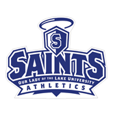 Large Magnet-Our Lady of the Lake University Athletics - Offical Logo, 12 inches wide