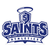 Extra Large Magnet-Our Lady of the Lake University Athletics - Offical Logo, 18 inches wide