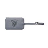 Fabrizio Grey Luggage Tag-S in Shield w/ Halo Engraved